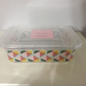 Kate Spade Geo Spade containers, NWT